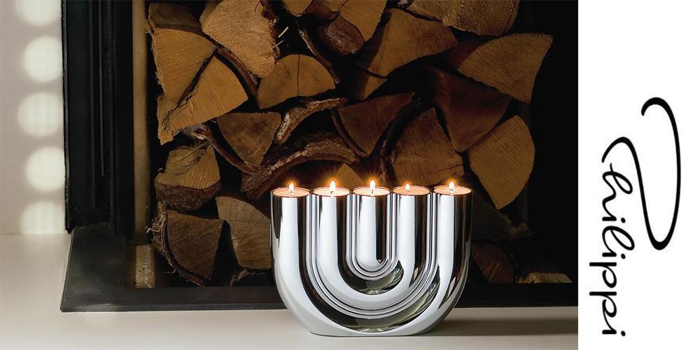 luxusní svícen na pět svíček