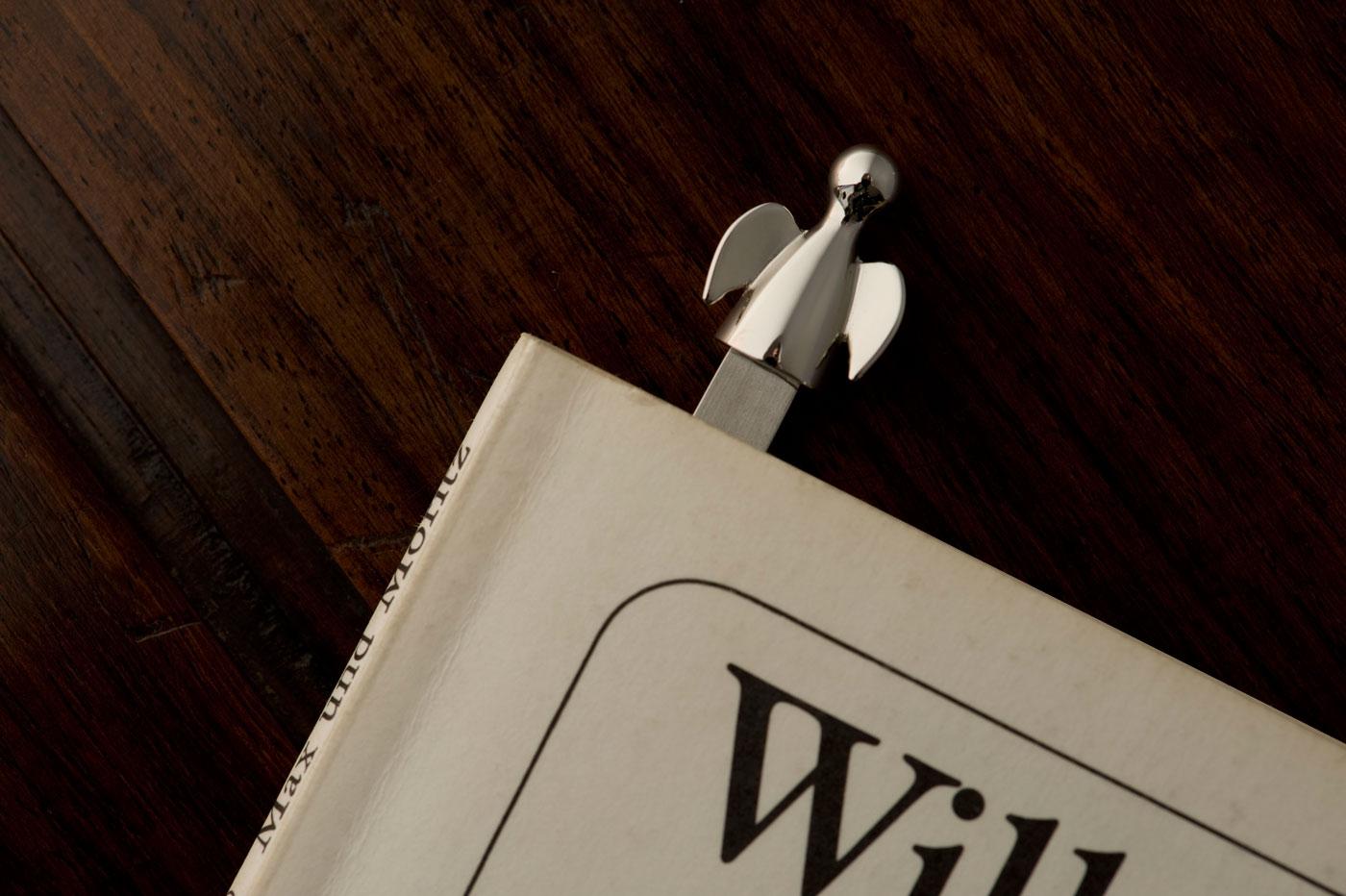 kovové záložky do knih